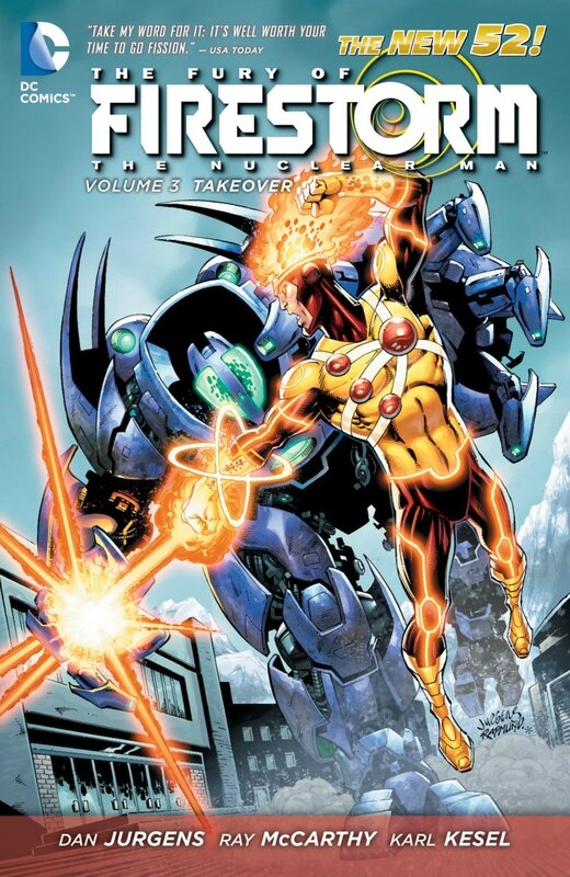 fury of firestorm vol 3 takeover TP