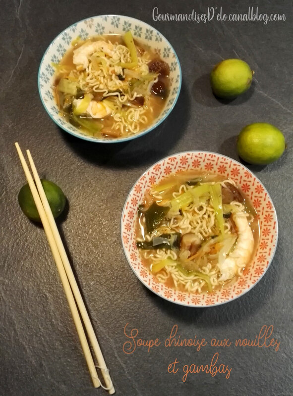Soupe chinoise miso (2)