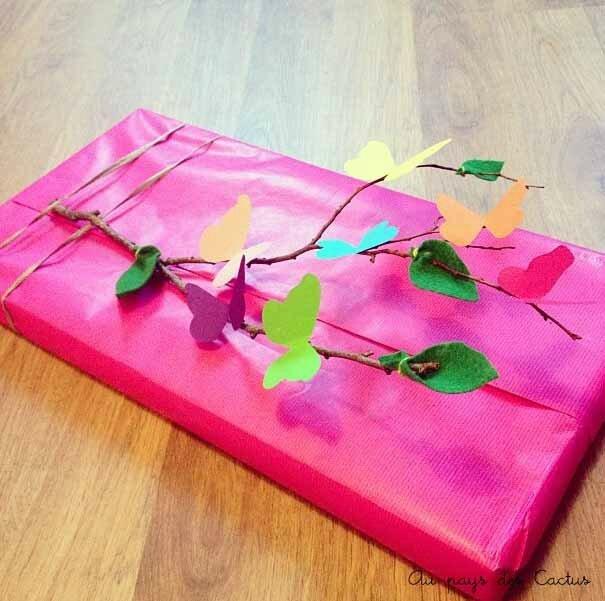 Paquet cadeau Au pays des Cactus 1