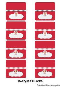 etiquettes marques places charlotte aux fraises