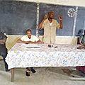 Benin : le radeb dans un combat pour une vie