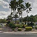 Rond-point à triniti park (australie)
