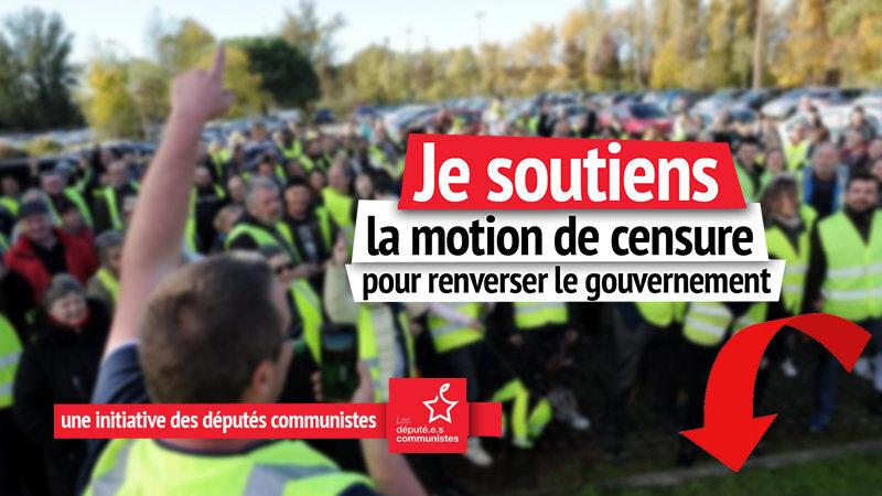 PCF: censurer le gouvernement pour sortir de la crise