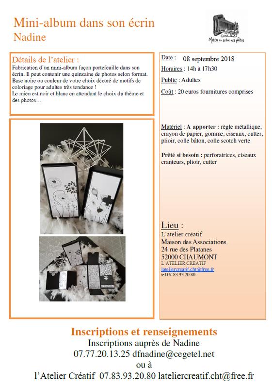 Atelier scrap Nadine 08 09 18