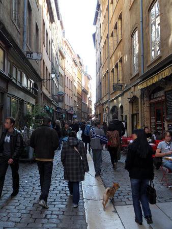 Lyon_une_rue_du_vieux_Lyon