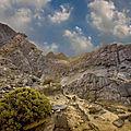 Le désert de tabernas en andalousie