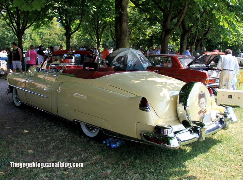 Cadillac serie 62 convertible de 1950 (37ème Internationales Oldtimer Meeting de Baden-Baden) 02