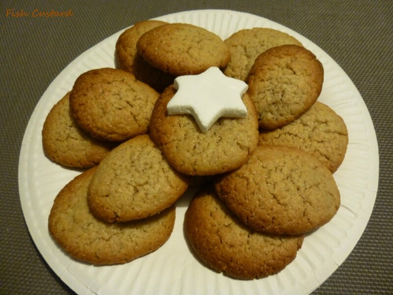 Chewy gingerbread cookies (13)