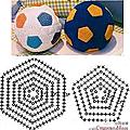 Ballons au crochet + pattern