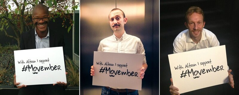 Movember 2014 - Les collaborateurs d'Altran se mobilisent