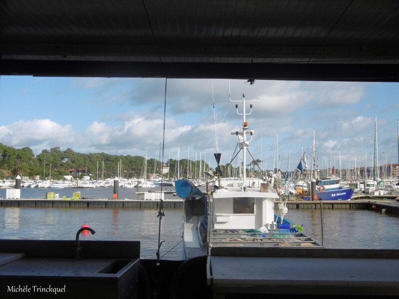Capbreton, Lac Hossegor, Coucher soleil Messanges 030219