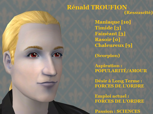 Rénald TROUFION