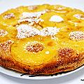 Recette facile du moelleux à l'ananas à l'huile d'olive et au rhum