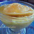 Crème au citron et aux amandes pour ramadan / façon mistralette ( 2 )