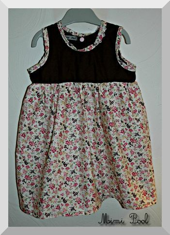 Robe fronce