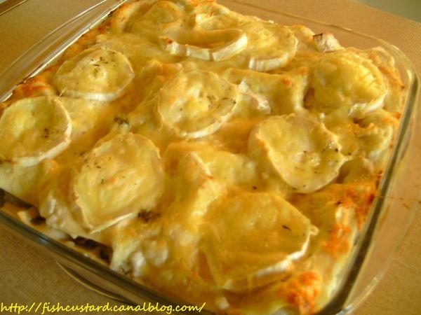 Lasagnes aux asperges, jambon et chèvre 1 (4)