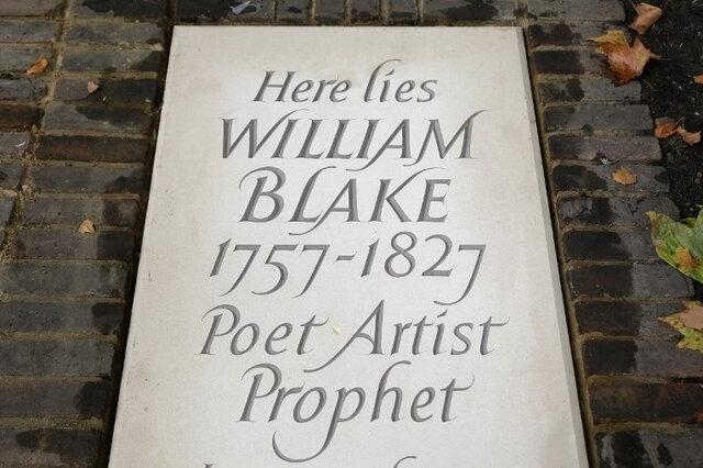 Des passionnés retrouvent la tombe de William Blake