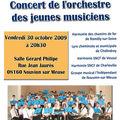Stage et concert orchestre des jeunes