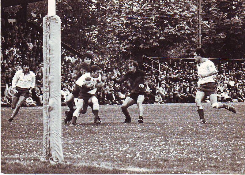 Saison 78 - 79, Ste-Foy / Niort en 1/2 Finale