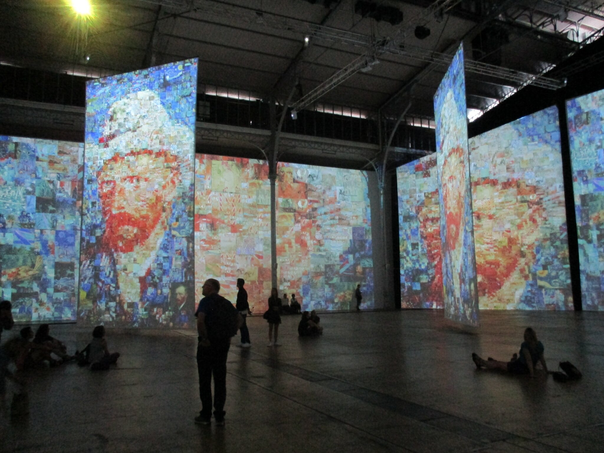 Imagine Van Gogh - La Vilette - IMG_1122