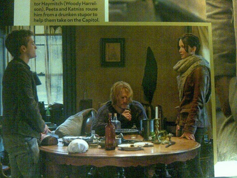 Peeta Katniss and Haymitch Catching Fire