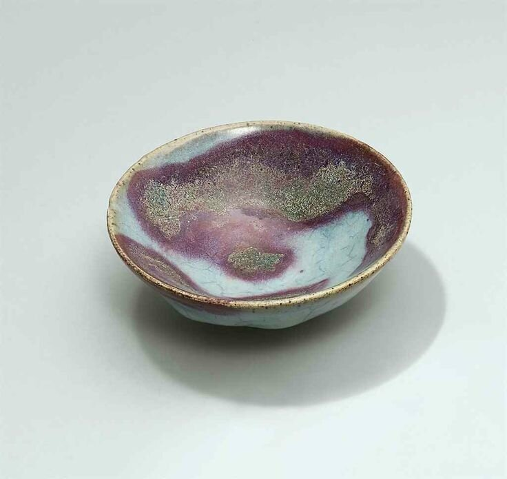 A small purple-splashed Jun bowl, Yuan dynasty (1279-1368)