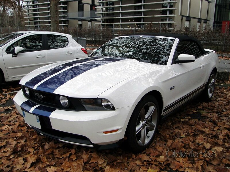 ford mustang gt 5,0 convertible 2011 a