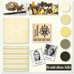 Kit Atelier Multi Albums de Juillet 2015