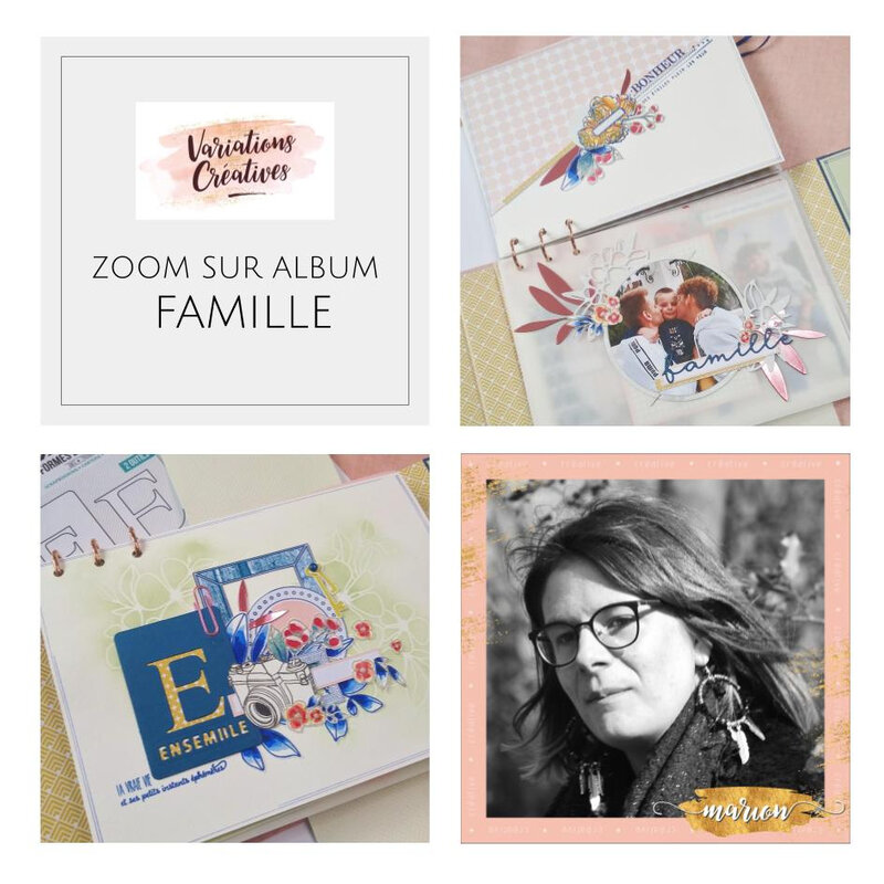 Slide ALBUM MARION COLLECTION FAMILLE MH GEFFRAY
