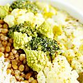Blog culinaire Kallitany - bol anti gaspi chou riz lentilles poireaux (3)