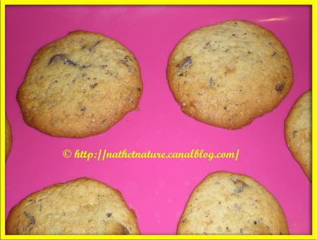Biscuits moelleux choco-banane - 1