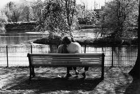 amoureux banc