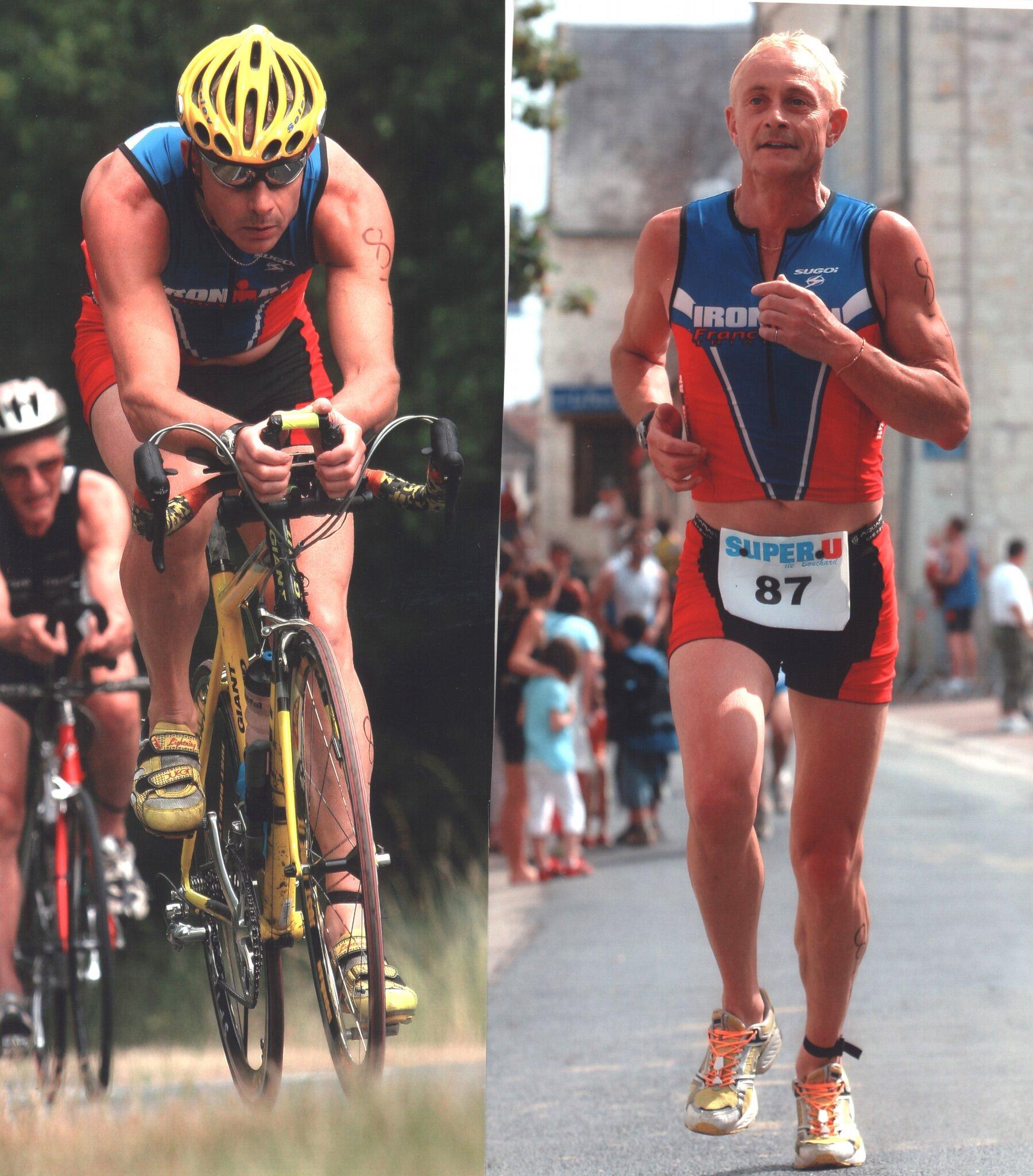 Nouâtre 2005 vélo et cap