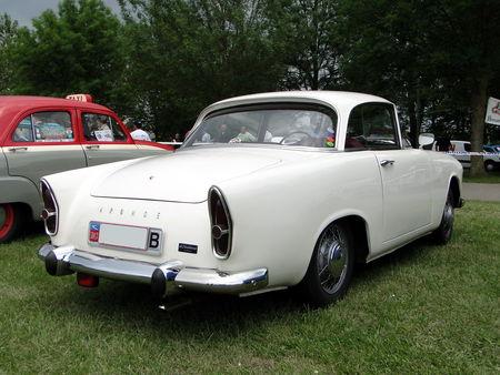 SIMCA Aronde Plein Ciel 1961 Retro meus Auto Lac de Madine 2010 2