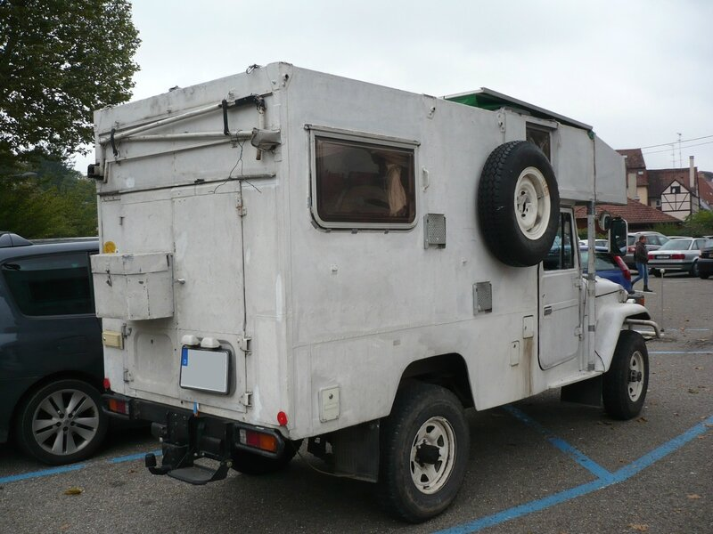 TOYOTA Land Cruiser FJ45 Troopy Camper Wissembourg (2)