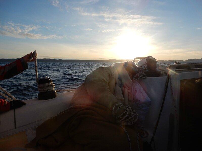 Lever du soleil sur Dugi Otok 150416