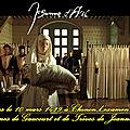 C'était vers le 10 mars 1429 à chinon l'examen de virginité par les dames de gaucourt et de trêves de jeanne la pucelle