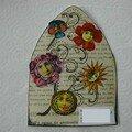 mails arts envoyés 008 reduit mixed media fleur