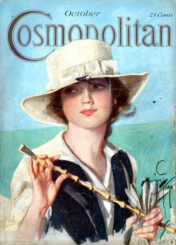 harrison fisher 1918 cosmo