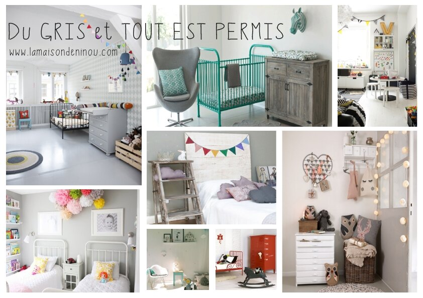 la semaine de la deco commence lundi 3 styles tendance deco pour enfants le blog de la. Black Bedroom Furniture Sets. Home Design Ideas