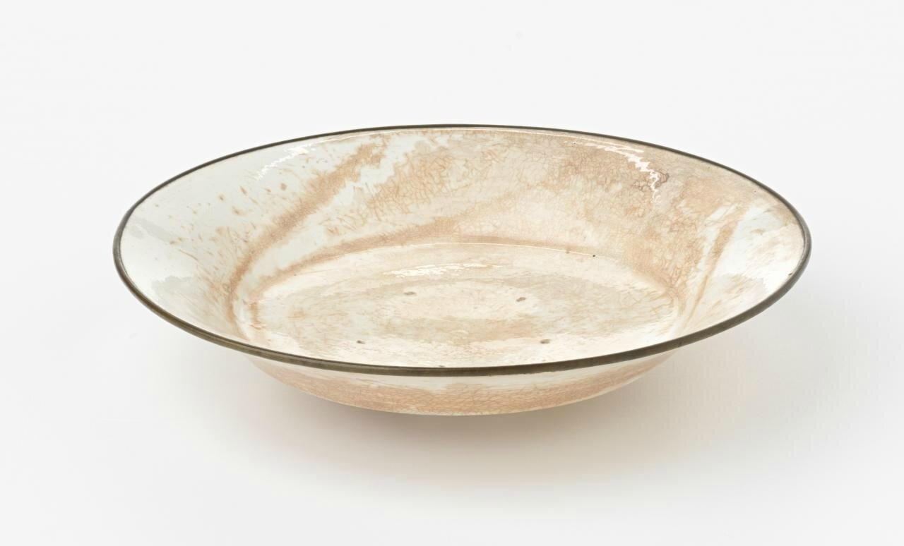 Dish, Northern Song dynasty, 960 CE-1127, Ding ware