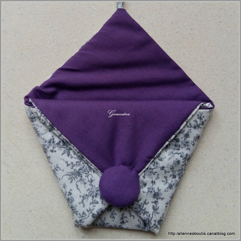 Pochette Origami de Geneviève