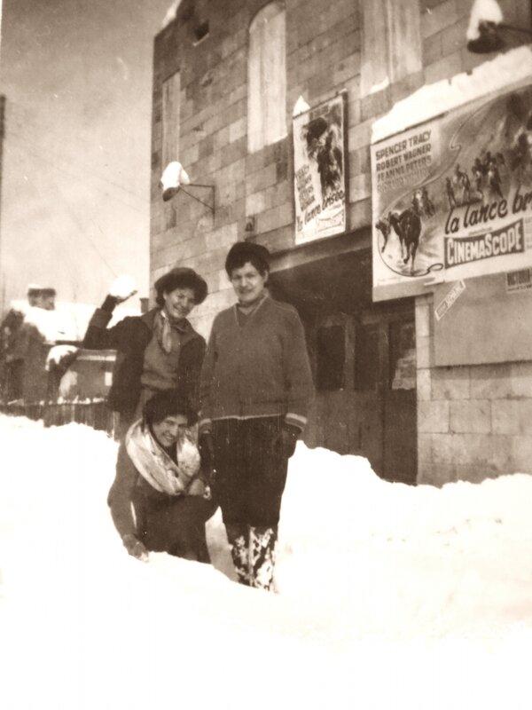 soeurs de François fevrier1956