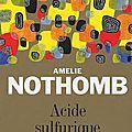 Amélie nothomb :