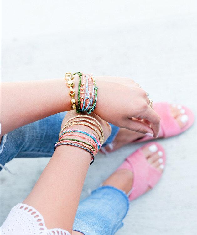 Bracelets Perles Parfait Pour Des Offrir Faire Un En Cadeau Petit zSUMVp