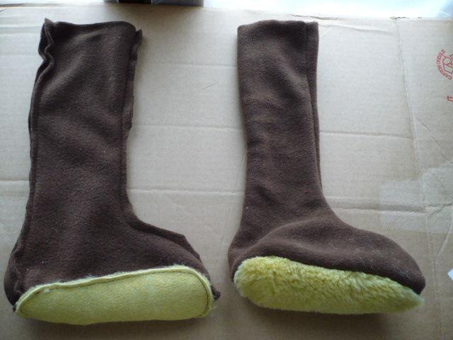 la meilleure attitude 396b8 b80d9 Chaussons - chaussettes de bottes - Chiffons et Gourmandises ...