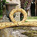 Fronton en bois doré xviiie
