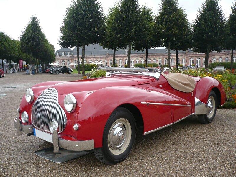 ALVIS TB 14 Special Sports Tourer 1950 Schwetzingen (1)