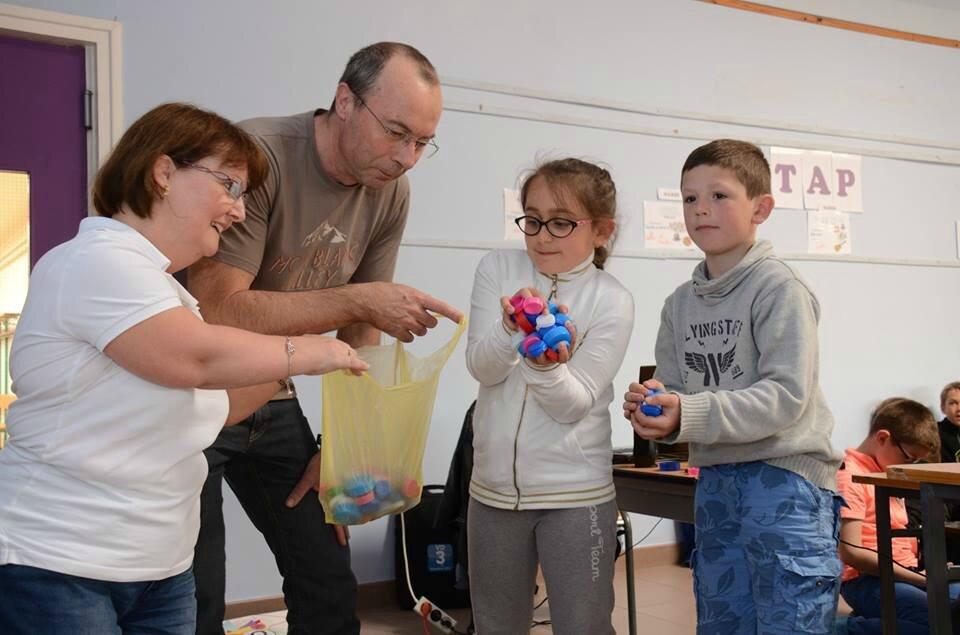 Sensibilisation à l'école élémentaire Copernic de Gravelines