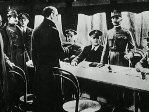 Des témoins racontent la signature de l'armistice de 1918